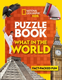 Puzzle Book What in the World : Brain-Tickling Quizzes, Sudokus, Crosswords and Wordsearches, Paperback Book