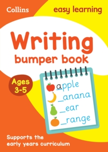 Writing Bumper Book Ages 3-5, Paperback / softback Book