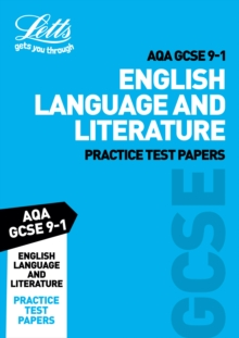AQA GCSE English Language and Literature Practice Test Papers, Paperback Book