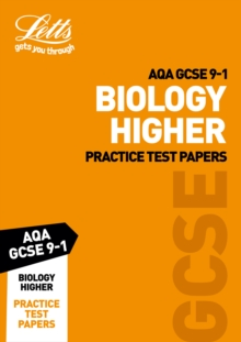 AQA GCSE Biology Higher Practice Test Papers, Paperback Book