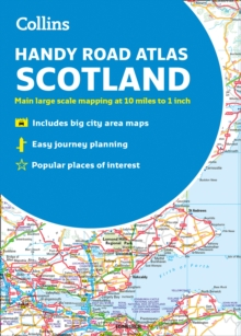 Collins Handy Road Atlas Scotland, Paperback / softback Book