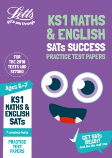 KS1 Maths and English SATs Practice Test Papers : 2019 Tests, Paperback / softback Book