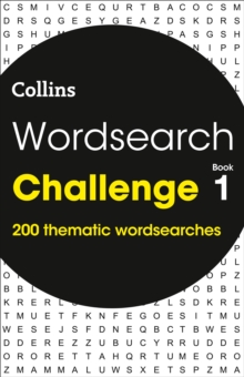 Wordsearch Challenge book 1 : 200 Themed Wordsearch Puzzles, Paperback / softback Book