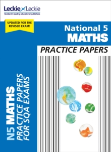 National 5 Mathematics Practice Exam Papers, Paperback Book