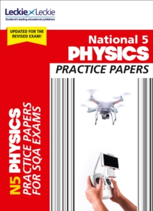 National 5 Physics Practice Papers for New 2019 Exams : Prelim Papers for Sqa Exam Revision, Paperback / softback Book