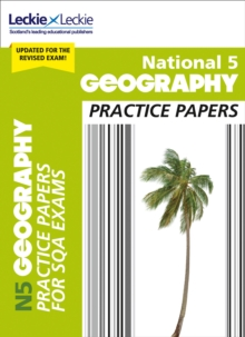 National 5 Geography Practice Papers for New 2019 Exams : Prelim Papers for Sqa Exam Revision, Paperback / softback Book