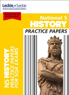 National 5 History Practice Papers for New 2019 Exams : Prelim Papers for Sqa Exam Revision, Paperback / softback Book