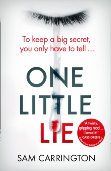 One Little Lie : From the Best Selling Author Comes a New Crime Thriller Book for 2018, Paperback / softback Book