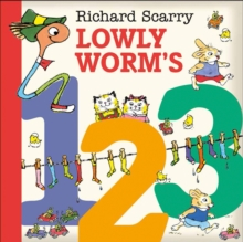 Lowly Worm's 123, Board book Book