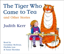 The Tiger Who Came to Tea and other stories CD collection, CD-Audio Book