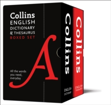 Collins English Dictionary and Thesaurus Boxed Set : All the Words You Need, Every Day, Mixed media product Book