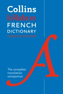 Robert French Concise Dictionary : Your Translation Companion, Paperback / softback Book