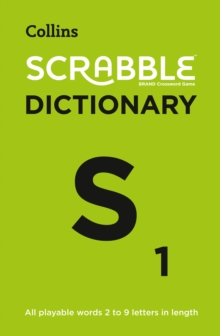 SCRABBLE (R) Dictionary : The Official Scrabble (R) Solver - All Playable Words 2 - 9 Letters in Length, Paperback / softback Book