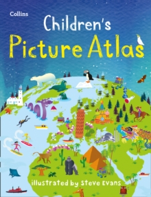 Collins Children's Picture Atlas, Hardback Book