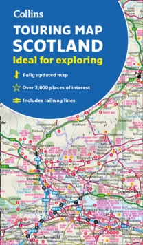 Scotland Touring Map : Ideal for Exploring, Sheet map, folded Book