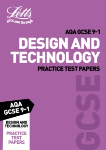 Grade 9-1 GCSE Design and Technology AQA Practice Test Papers, Paperback / softback Book