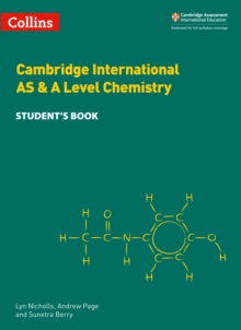 Cambridge International AS & A Level Chemistry Student's Book, Paperback / softback Book