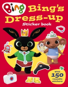 Bing's Dress-Up Sticker book, Paperback / softback Book