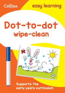 Dot-to-Dot Age 3-5 Wipe Clean Activity Book : Ideal for Home Learning, Other book format Book