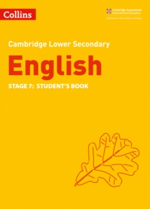 Lower Secondary English Student's Book: Stage 7, Paperback / softback Book
