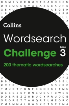 Wordsearch Challenge book 3 : 200 Themed Wordsearch Puzzles, Paperback / softback Book