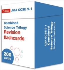 AQA GCSE 9-1 Combined Science Revision Cards (Biology, Chemistry & Physics) : Ideal for Home Learning, 2021 Assessments and 2022 Exams, Cards Book