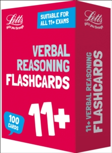 11+ Verbal Reasoning Flashcards : For the 2020 Tests, Cards Book