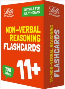 11+ Non-Verbal Reasoning Flashcards : For the 2020 Tests, Cards Book