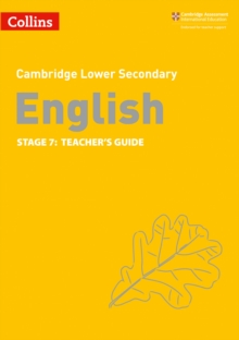 Lower Secondary English Teacher's Guide: Stage 7, Paperback / softback Book