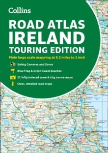 Road Atlas Ireland : Touring Edition A4 Paperback, Paperback / softback Book