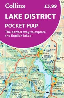 Lake District Pocket Map : The Perfect Way to Explore the English Lakes, Sheet map, folded Book
