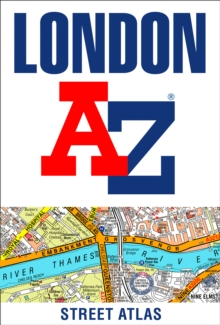 London A-Z Street Atlas, Paperback / softback Book