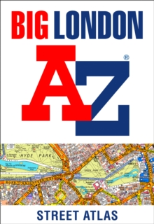 Big London A-Z Street Atlas, Spiral bound Book