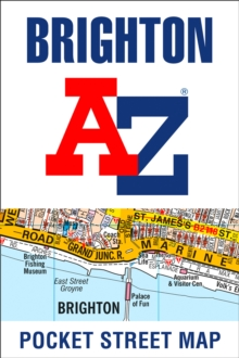Brighton A-Z Pocket Street Map, Sheet map, folded Book
