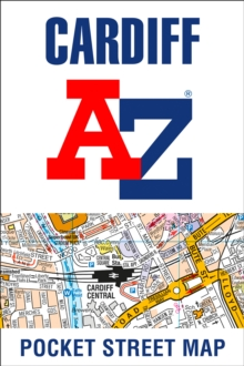 Cardiff A-Z Pocket Street Map, Sheet map, folded Book