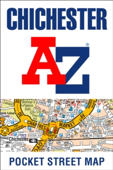 Chichester A-Z Pocket Street Map, Sheet map, folded Book