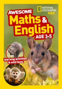 Awesome Maths and English Age 3-5, Paperback / softback Book