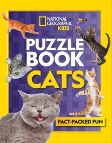 Puzzle Book Cats : Brain-Tickling Quizzes, Sudokus, Crosswords and Wordsearches, Paperback / softback Book
