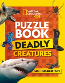 Puzzle Book Deadly Creatures : Brain-Tickling Quizzes, Sudokus, Crosswords and Wordsearches, Paperback / softback Book