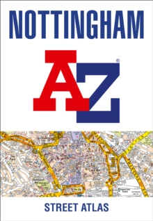 Nottingham A-Z Street Atlas, Paperback / softback Book