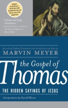 The Gospel of Thomas, Hardback Book