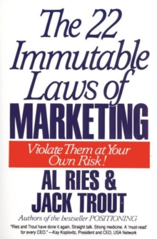 The 22 Immutable Laws of Marketing, eAudiobook MP3 eaudioBook