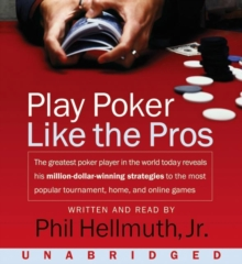 Play Poker Like The Pros, eAudiobook MP3 eaudioBook