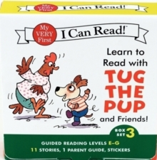 Learn to Read with Tug the Pup and Friends! Box Set 3 : Levels Included: E-G, Paperback Book