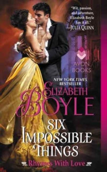 Six Impossible Things : Rhymes With Love, Paperback Book
