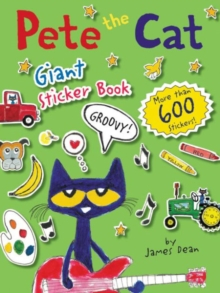 Pete the Cat Giant Sticker Book, Paperback Book