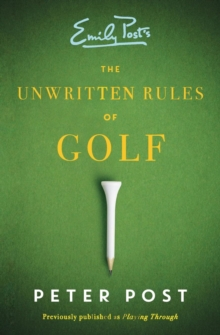 The Unwritten Rules of Golf, Paperback Book