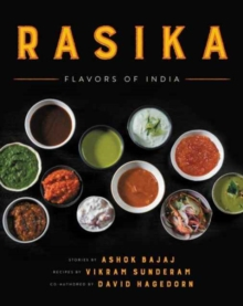 Rasika : Flavors of India, Hardback Book