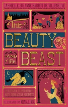 The Beauty and the Beast (Illustrated with Interactive Elements), Hardback Book