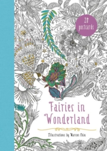 Fairies in Wonderland 20 Postcards : An Interactive Coloring Adventure for All Ages, Miscellaneous print Book